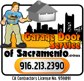 Garage door & opener installation, repair, service and sales in Sacramento and surrounding areas