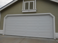 LONG PANEL Garage Door Install