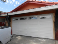 4 Panel Garage Door with Windows